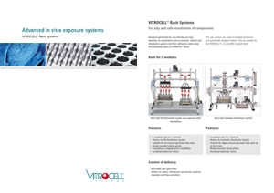 VITROCELL® Rack Systems