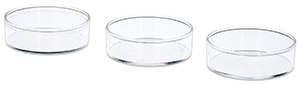 35 mm Petri dishes for VITROCELL® AMES 3 base module