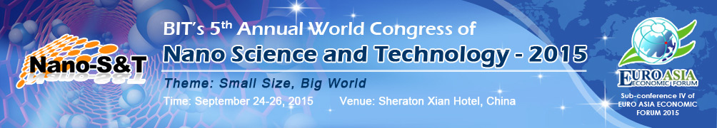 5th Annual World Congress of Nano Science and Technology 2015