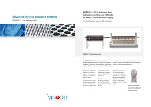 VITROCELL® 12/6 Stainless Steel