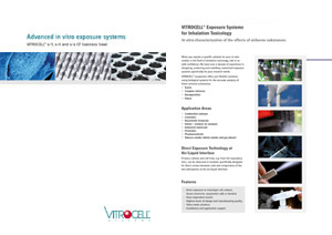 VITROCELL® 12 Typical System Options