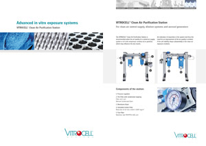 VITROCELL® Clean Air Purification Station