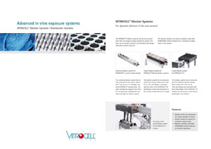 VITROCELL® Dilution Systems / Distribution Systems