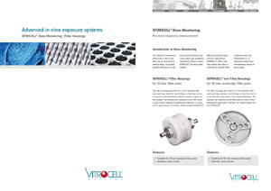 VITROCELL® Dose Monitoring / Filter Housings