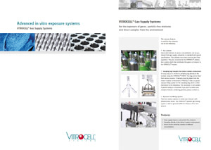 VITROCELL® Gas Supply Systems