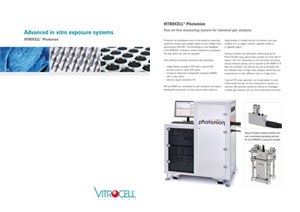 Leaflet VITROCELL® Photonion