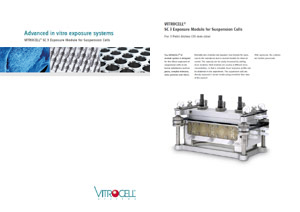VITROCELL® SC 3 Exposure Module for Suspension Cells