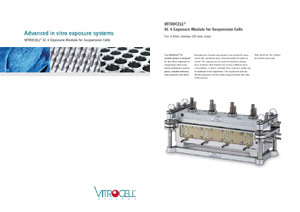 VITROCELL® SC 4 Exposure Module for Suspension Cells