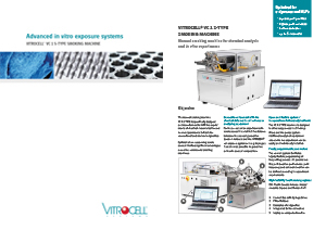 VITROCELL® VC 1 S-TYPE Smoking Machine