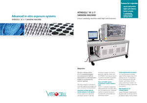 VITROCELL® VC 1/7 Smoking Machine