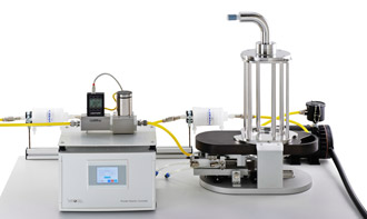 VITROCELL® Powder Chamber Filling of sedimentation tubes