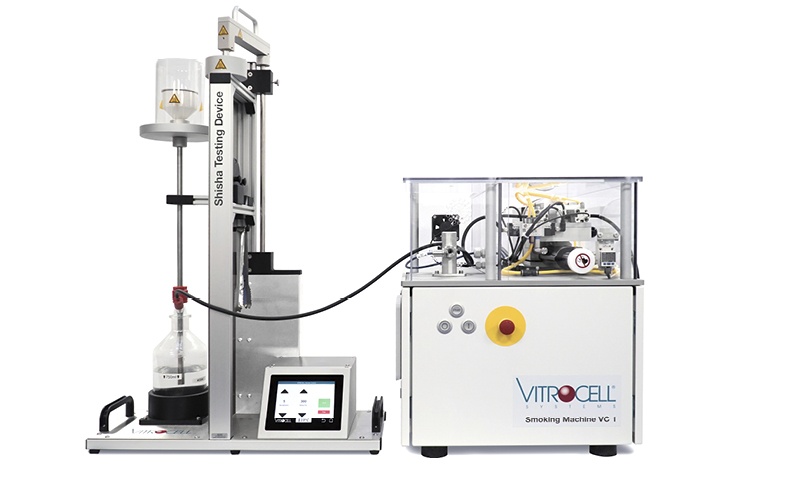 VITROCELL® Shisha Testing Device with VC 1 smoking machine